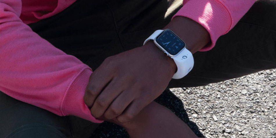 Wristcam el brazalete de cámara para el reloj de Apple