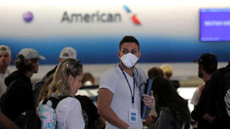 El coronavirus avanza en EE.UU.: más de 400 muertos y más de 33.000 infectados