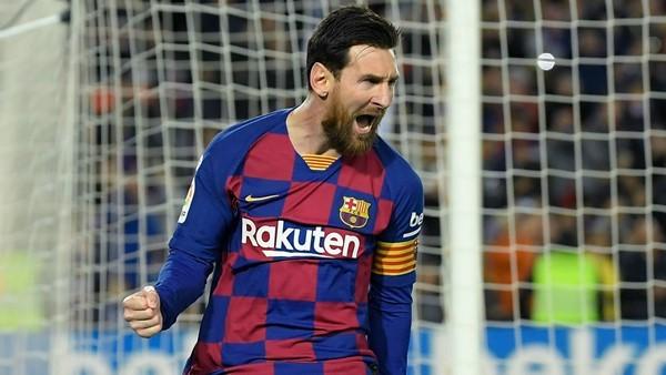 Messi es el máximo goleador histórico de las cinco grandes ligas europeas